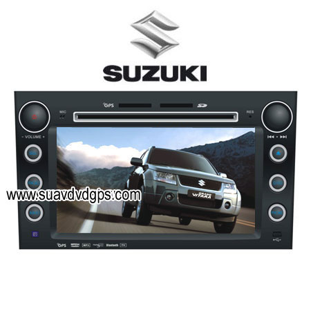 suzuki grand vitara car dvd player gps navigation tv. Black Bedroom Furniture Sets. Home Design Ideas