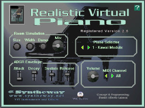 Syntheway introduces Realistic Virtual Piano v2 5 for VST