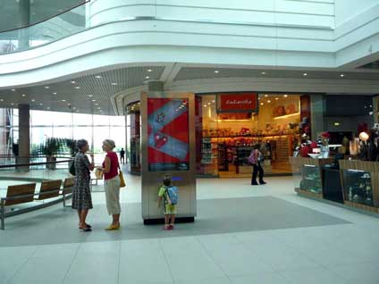 Navori Digital Signage at Malta shopping mall