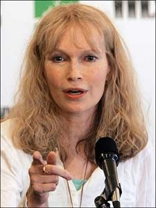 Mia Farrow Honoree at 2009 Sullivan Awards at the Kennedy Center