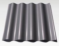 Corrugated Zinc Panel