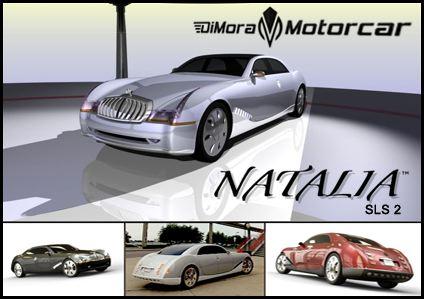 Natalia SLS 2 V16 1200 hp designed by Alfred DiMora