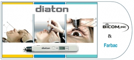 Diaton Tonometer - Glaucoma Eye IOP/PIO Test through Eyelid