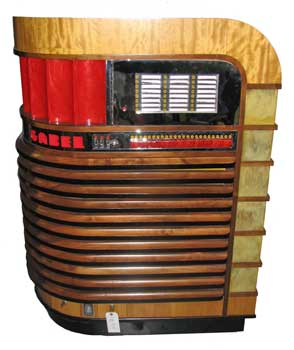 This rare, restored 1940 Gabel Kuro jukebox will be auctioned Saturday, Oct. 3.