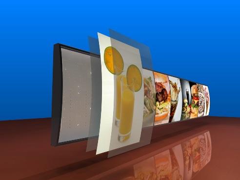 Arched Graphics Menu Board