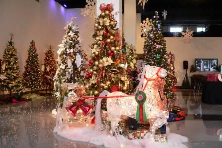 The Festival of Trees features more than 20 beautifully decorated holiday trees.