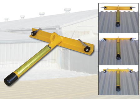 Superior Anchor On The Go™   Temporary Fall Protection Roof Anchor For Metal Roofs