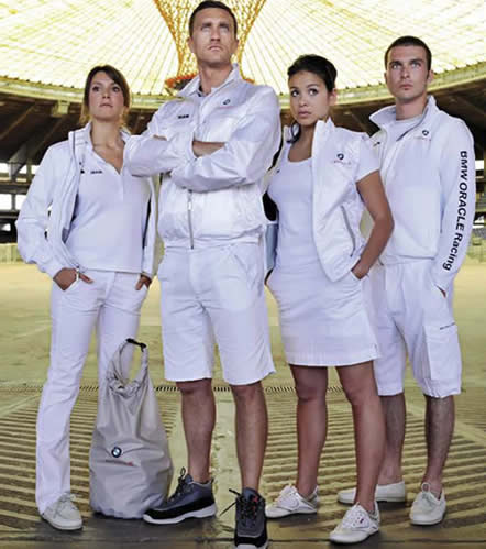 New BMW ORACLE Racing Team Clothing by SLAM