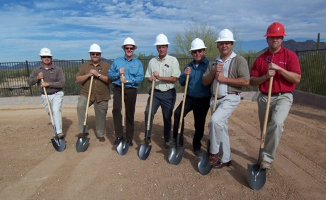 Lennar associates break ground at the highly-anticipated Lone Mountain