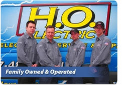 Your On-Time Electrician!