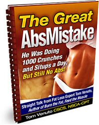 The Great Abs Mistake - Free Report