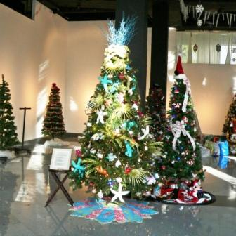 The Festival of Trees decorators have begun working on their 2009 entries.