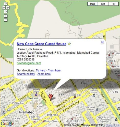 Newcapegrace Guest House Hotels In Islamabad Pakistan On