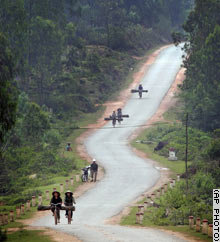 Newly Ho Chi Minh Trail, Vietnam - Photo by David Longstreath, AP