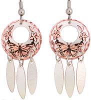 Handmade Jewelry, Handmade Earrings, Animal Jewelry, Butterfly Jewelry Earrings