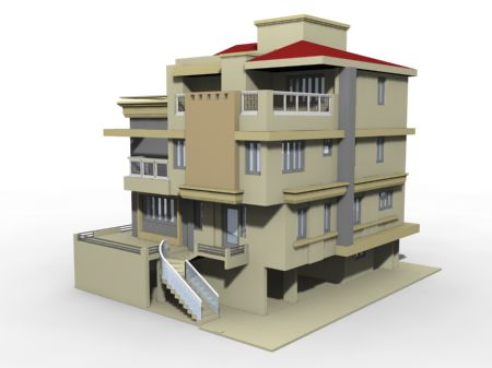 3d building models 3d rendering images from 3d renderers for Build house online 3d free