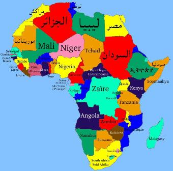 Africa's map in the digital Inclusion