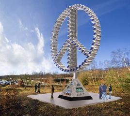 Solar Peace Sculpture Arrives In Copenhagen Solar Peace