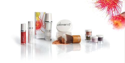 Alexami natural mineral makeup range