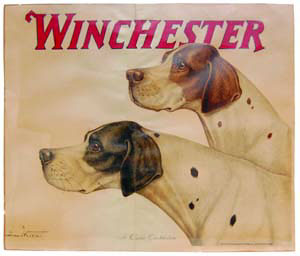 This Winchester poster from around 1890 is being offered through SoldUSA.com.