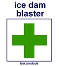 ice dam blaster