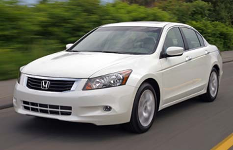 Frank Myers Auto Salutes 2008 Honda Accord As Best Seller