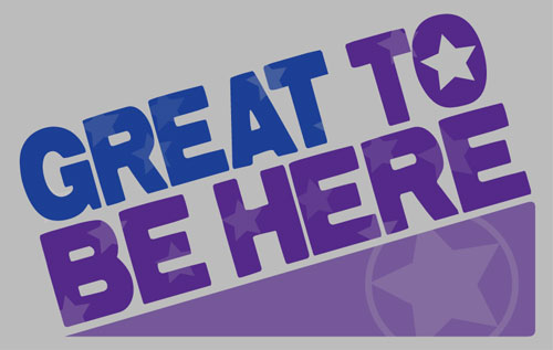 Great To Be Here Logo