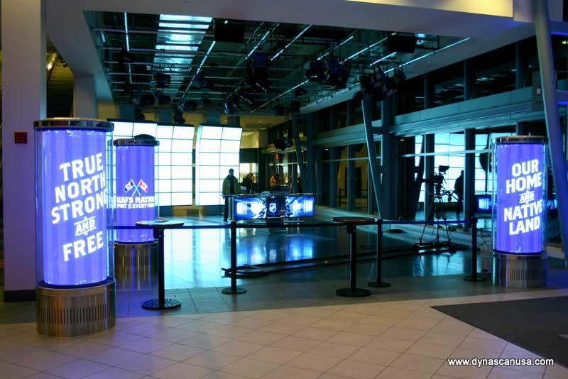 DynaScan Displays at Air Canada Centre
