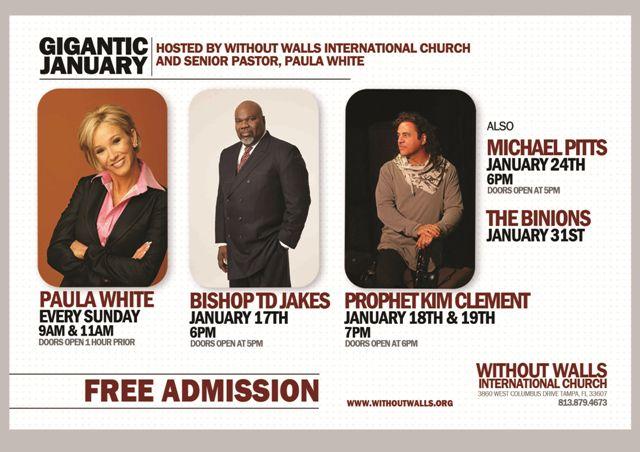 Without Walls International Church and Pastor Paula White ...