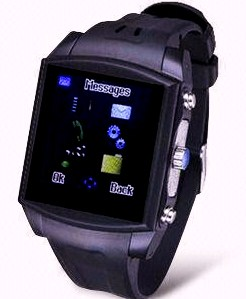 """Shock"" Waterproof Cell Phone Wristwatch from 3gWatches.com"