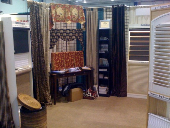blinds wilmington nc window treatments budget blinds home show booth of wilmington nc displays their beautiful at