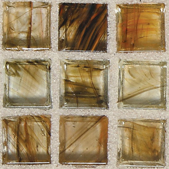 Classic Glass Tiles Warm Sunset