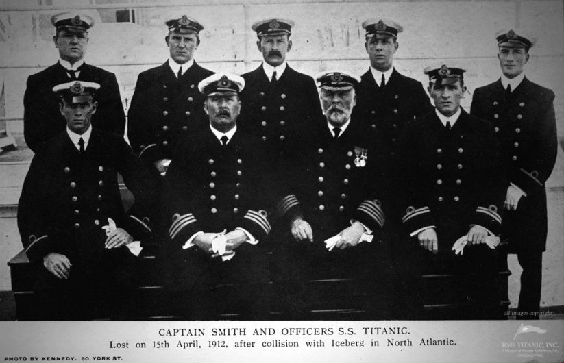 Titanic's Officers