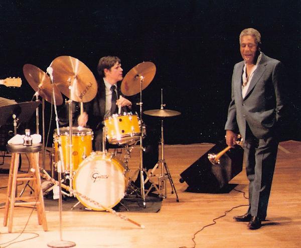 David Via with Dizzy Gillespie