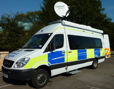 Gwent Police unveils new Incident Command Unit