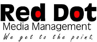 Red Dot Media Management logo
