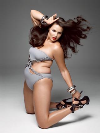 V Magazine Fat Models