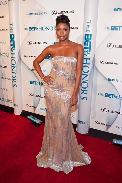 Gabrielle Union in Jean Fares Couture