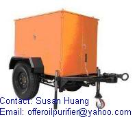 Transformer oil purification/ oil regeneration plant
