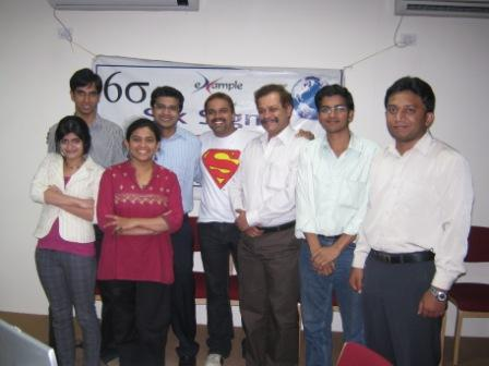 eXampleCG SIX SIGMA GREEN BELT Bangalore - Jan 2010 Photos