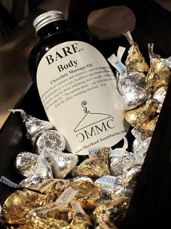 BARE Chocolate Massage Oil