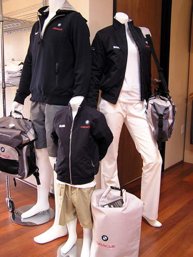 BMW ORACLE Racing Gear for the Family