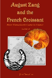 August Zang and the French Croissant (front cover)