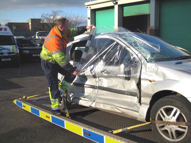 New low cost collision wrap from Recovery World