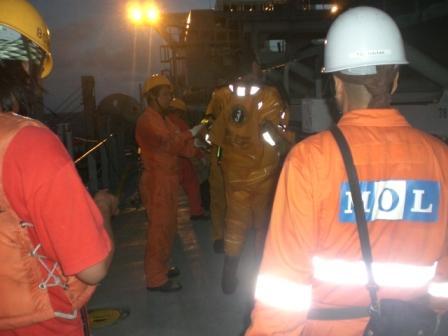 MOL rescue operation in full swing
