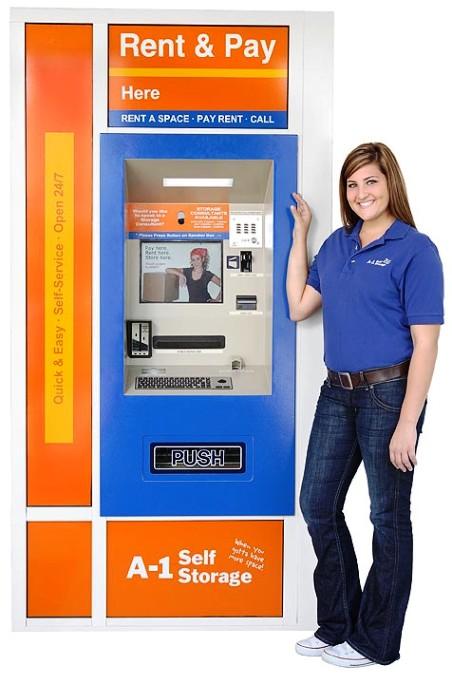 A 1 Self Storage 24 Hour Service Kiosk