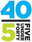 5 Under Forty Award