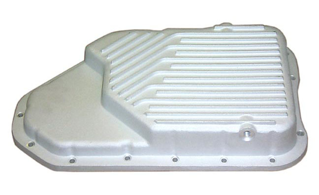 PML GM 200-4R Transmission Pan, Low Profile, Cast Aluminum