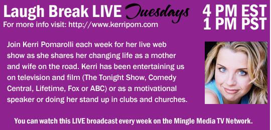 Laugh Break on Mingle Media TV
