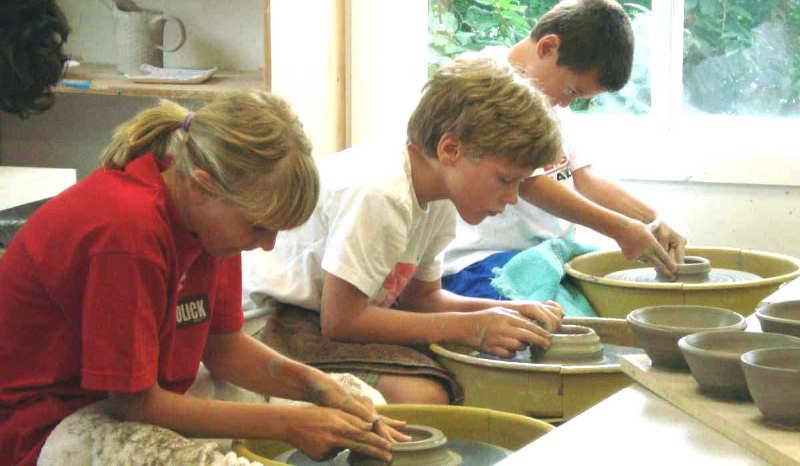 Art Summer Camp Programs At Lakeside Pottery Ceramic